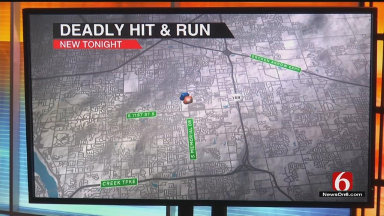Motorcyclist Dead After Tulsa Hit And Run