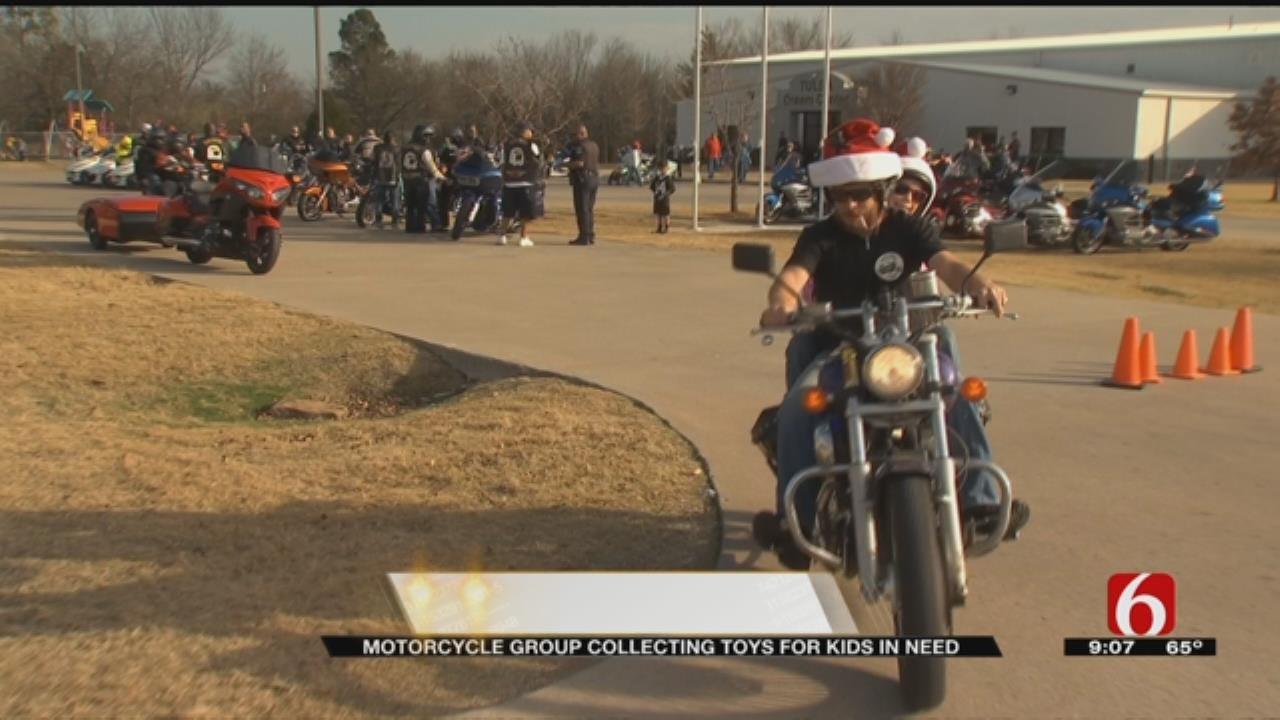 Bikers Rally Together To Make Sure Tulsa Kids Have Presents On Christmas