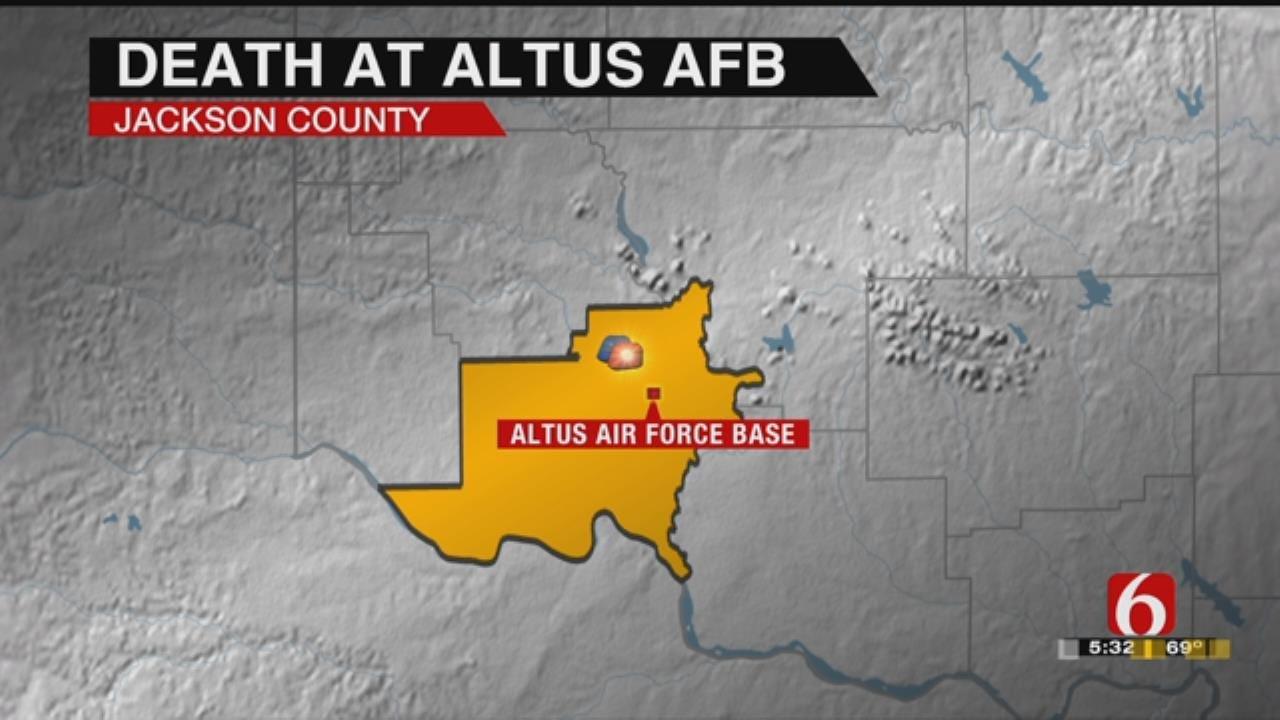 Airman Found Dead At Altus Base