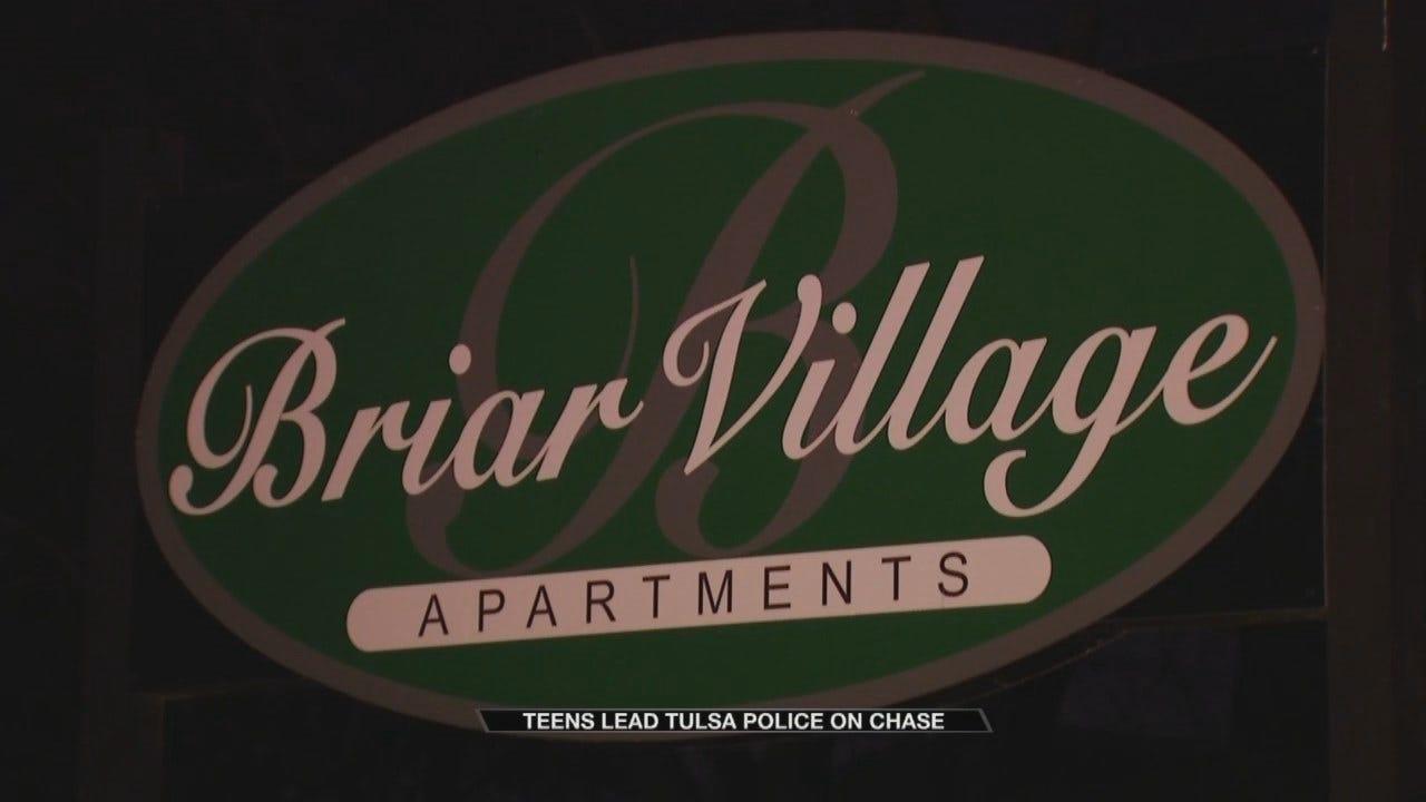 Five Teens Lead Tulsa Police On Chase