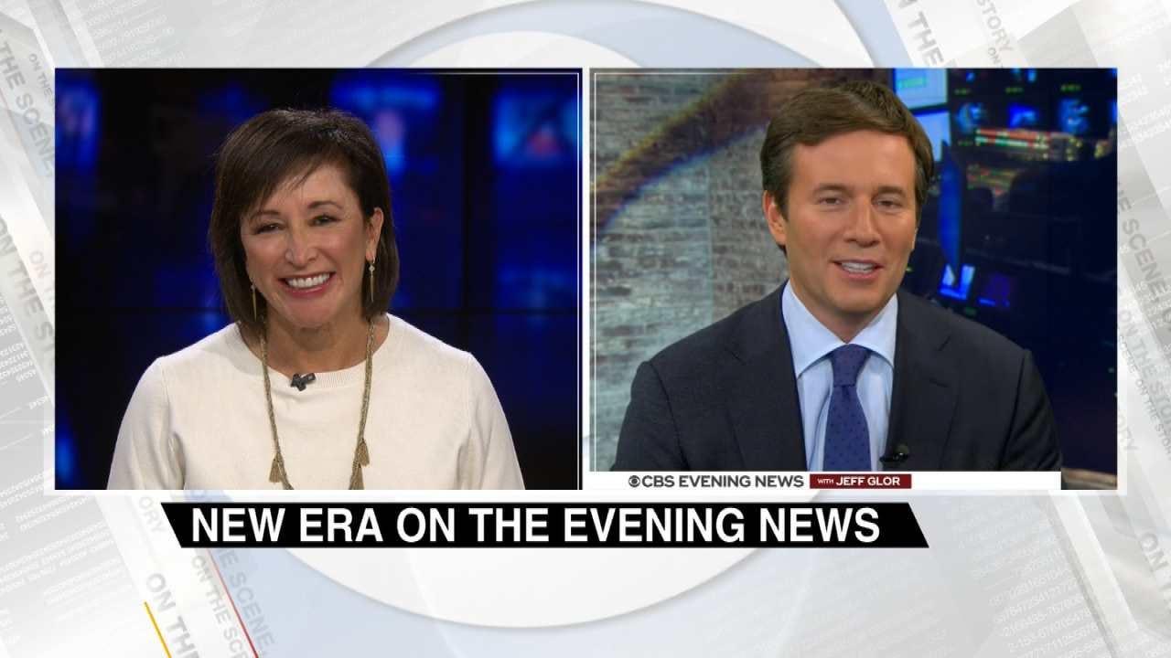 Terry Hood Interviews Jeff Glor, New Anchor Of CBS Evening News