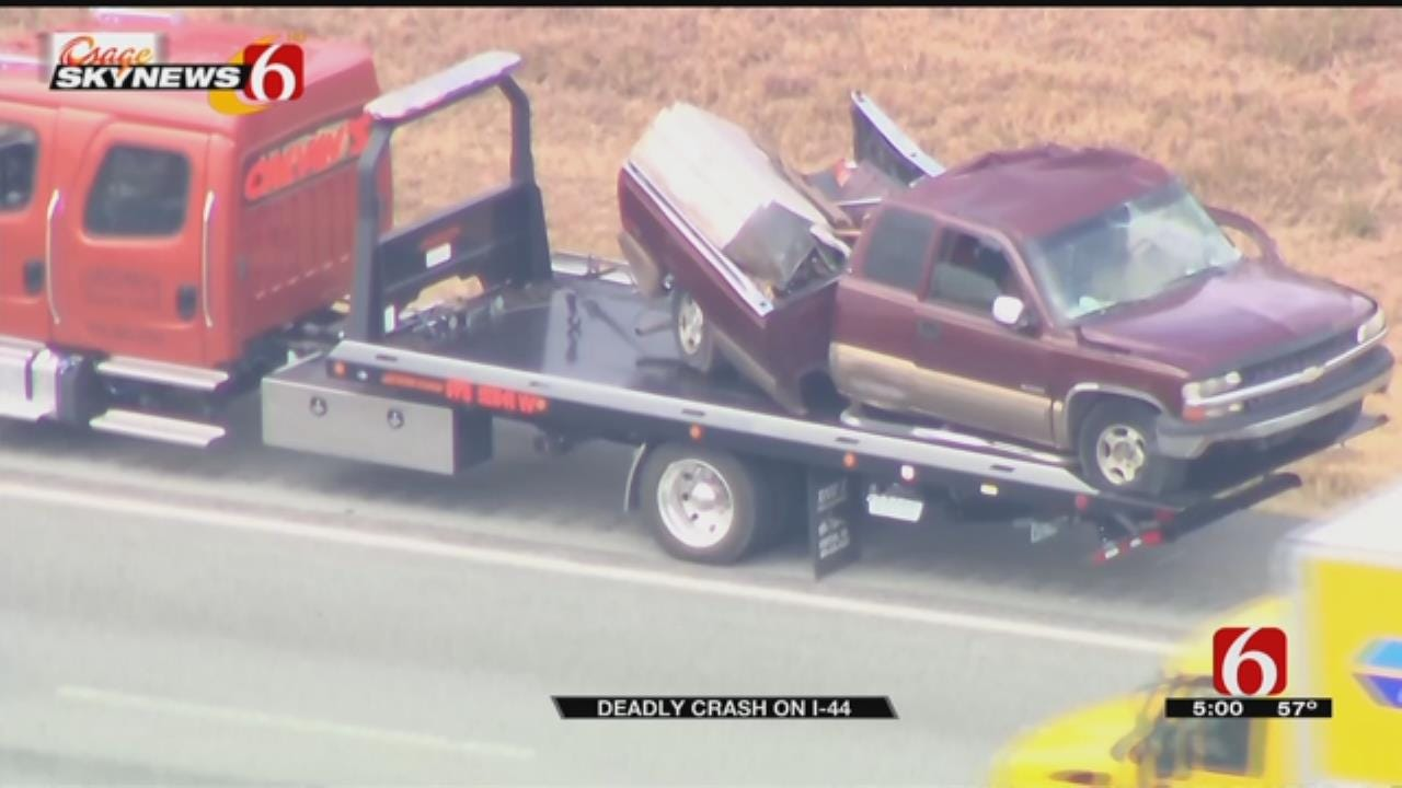 OHP: 1 Dead After Semi Hits Pickup Making Illegal Turnpike Turn