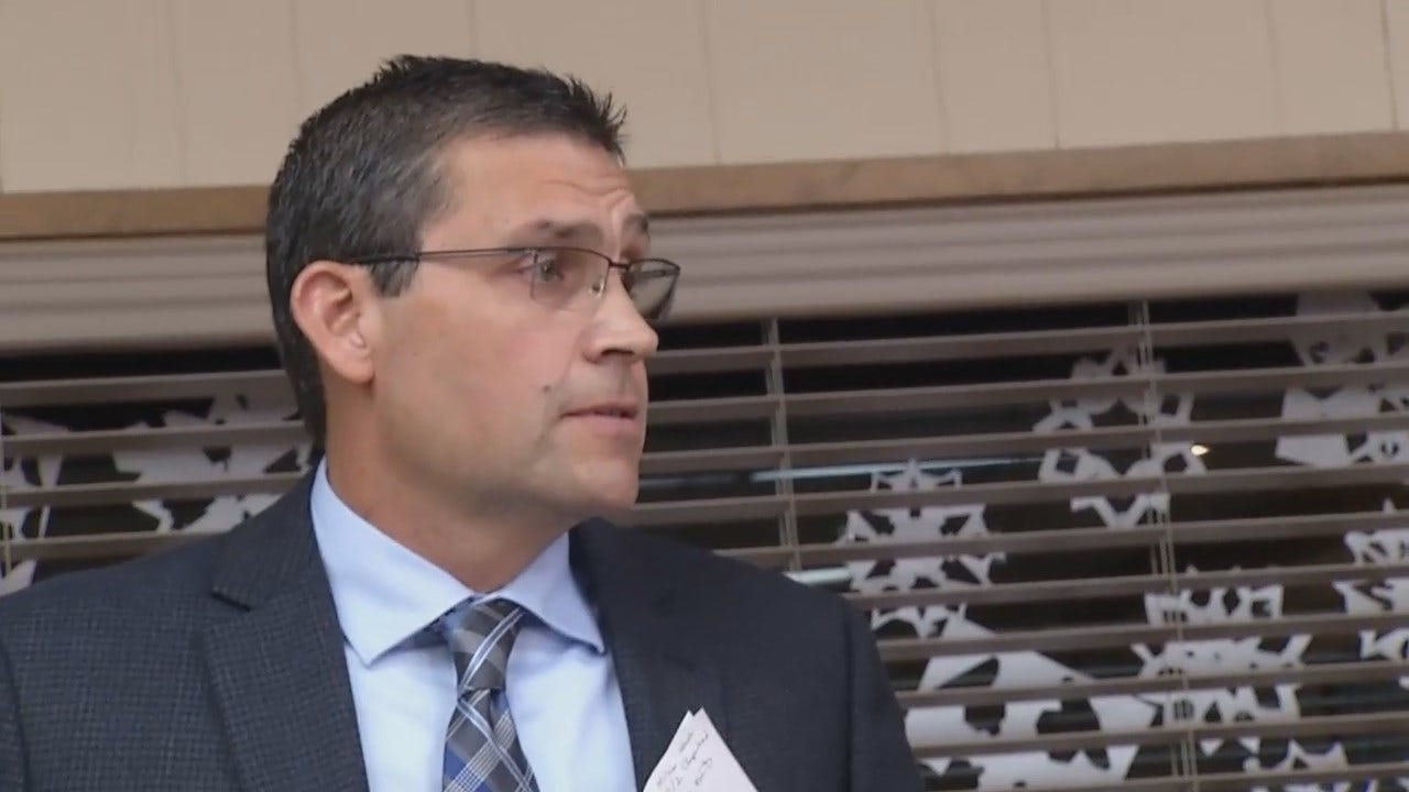 WEB EXTRA: Bixby School Board President Mentions 'Suspensions'