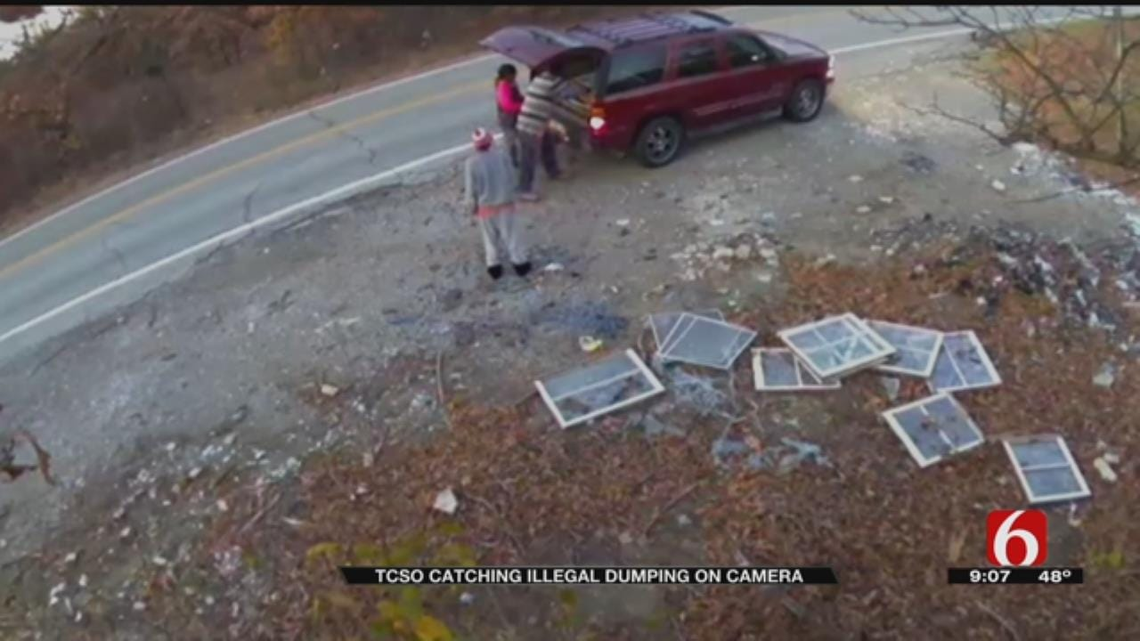TCSO Needs Help Identifying People In Illegal Dumping Case