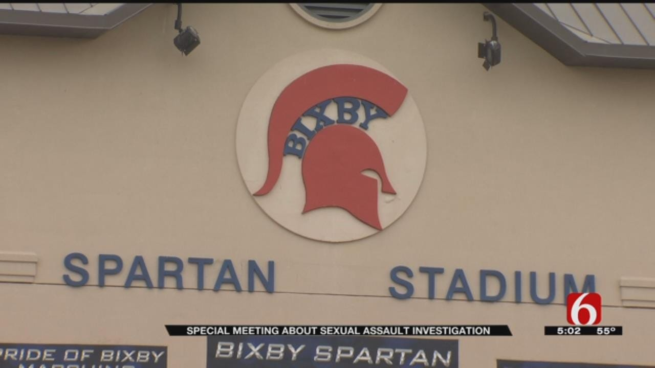 Bixby Sexual Assault Investigation: School Board To Hold Special Meeting