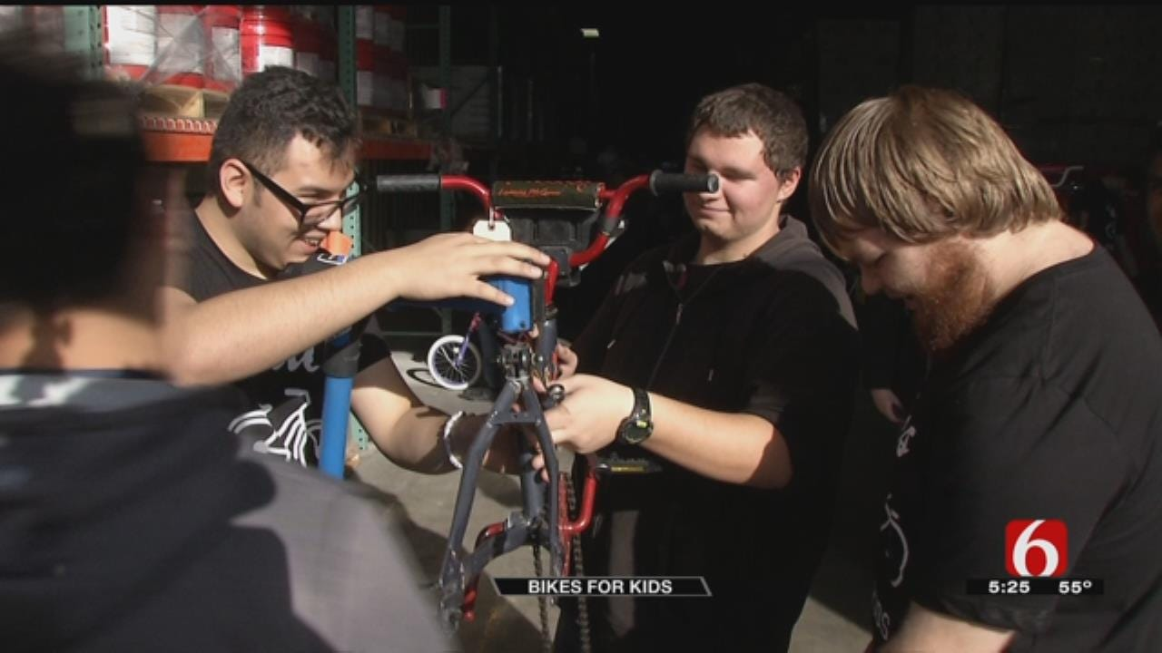 Union Students Help Fix Bikes, Build Memories For Less Fortunate