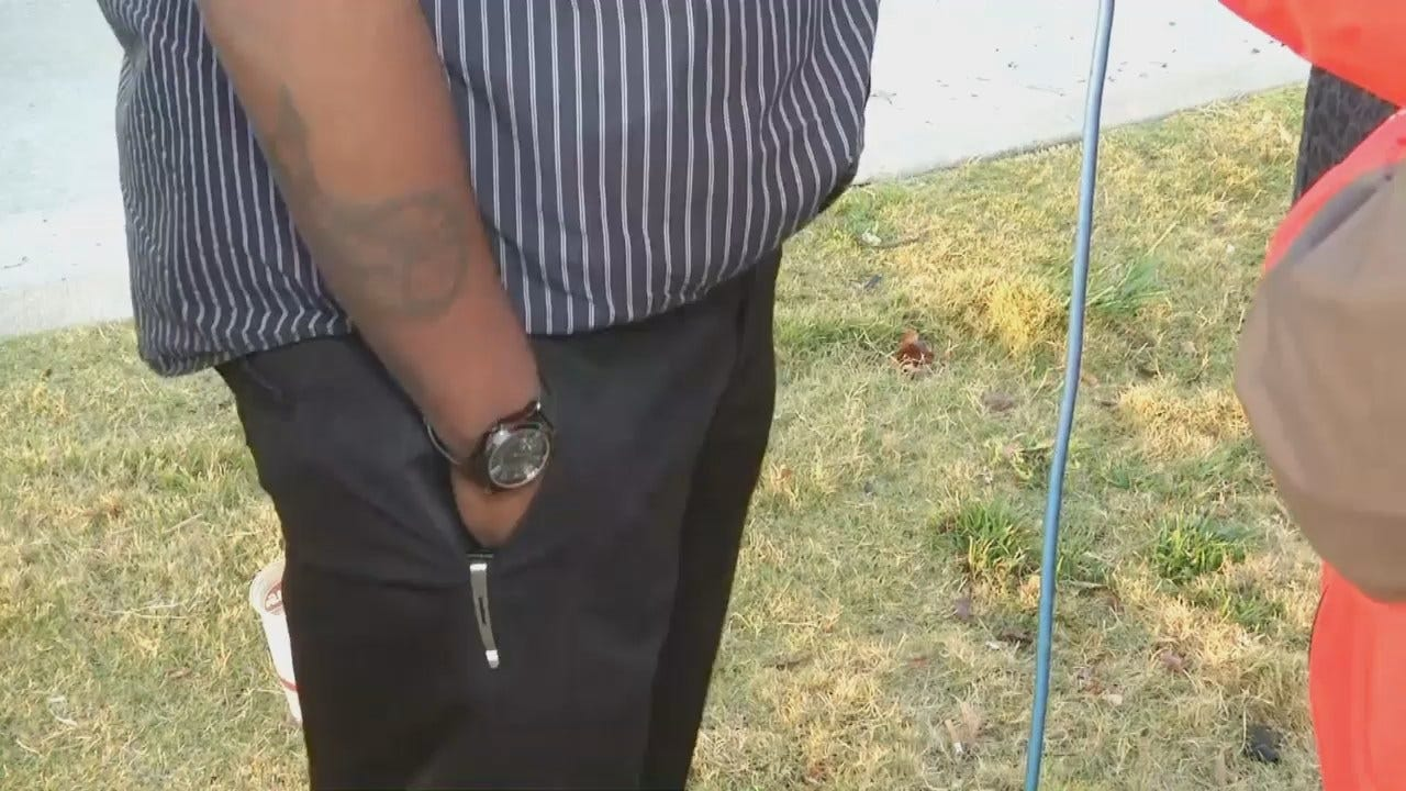 WEB EXTRA: Robbery Victim Talks About Robbery, Carjacking