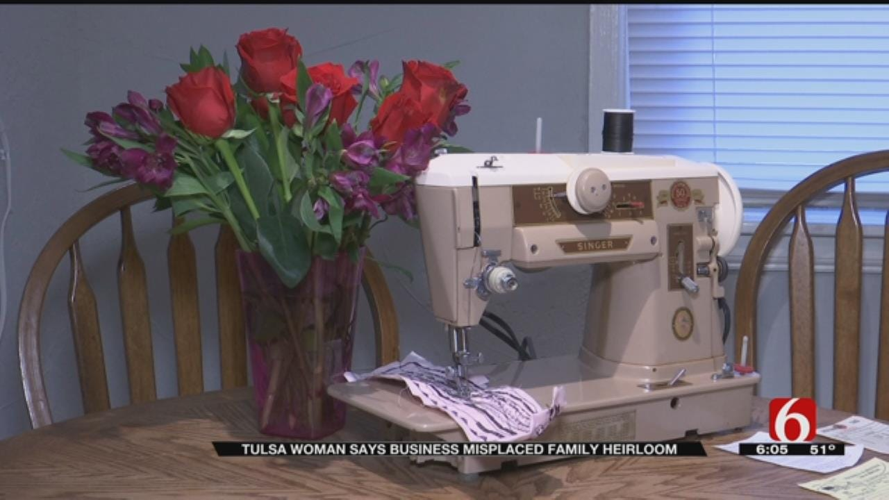 Tulsa Woman Worried Family Heirloom Is Lost For Good