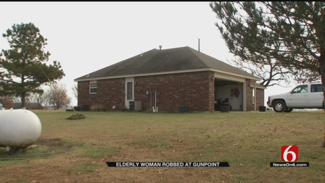Wagoner Co. Woman, 77, Robbed, Held At Gunpoint During Home Invasion
