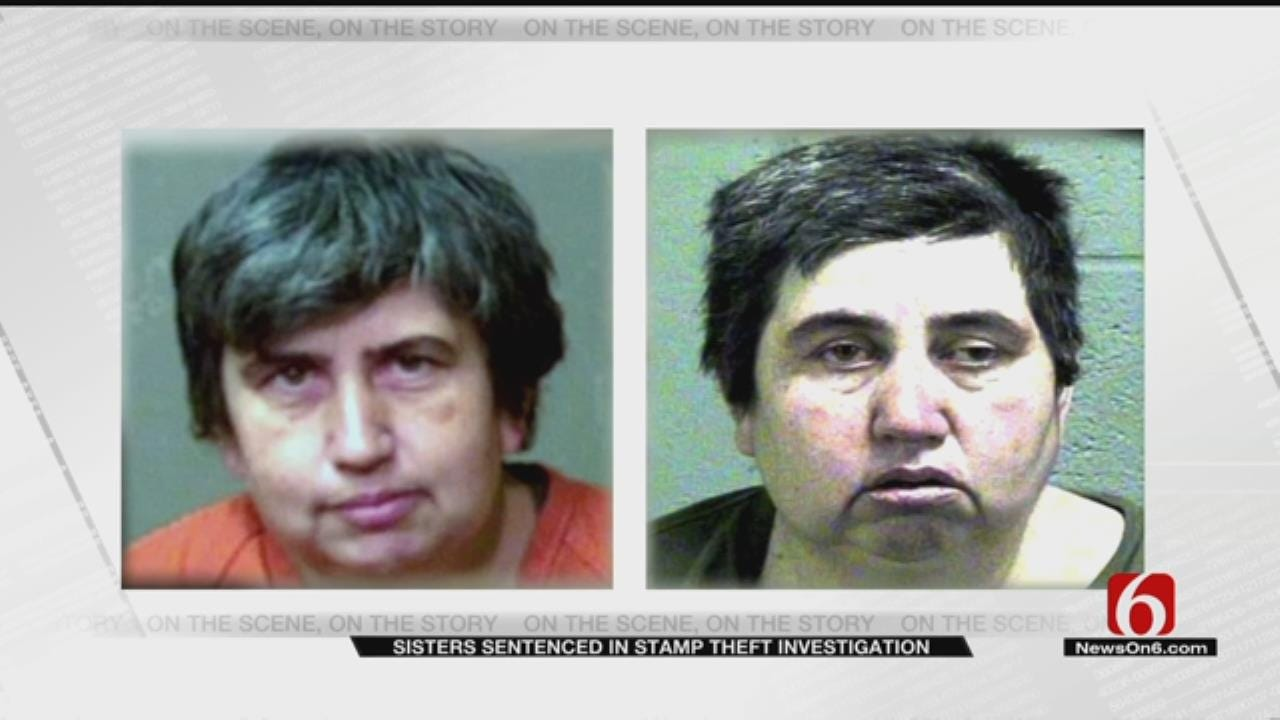 Oklahoma Sisters Sentenced In Postage Stamp Case