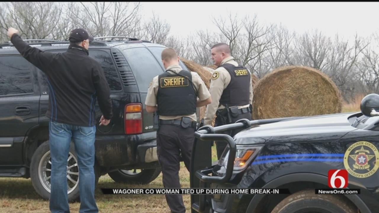 Intruder Ties Up Elderly Wagoner County Woman, Steals Valuables