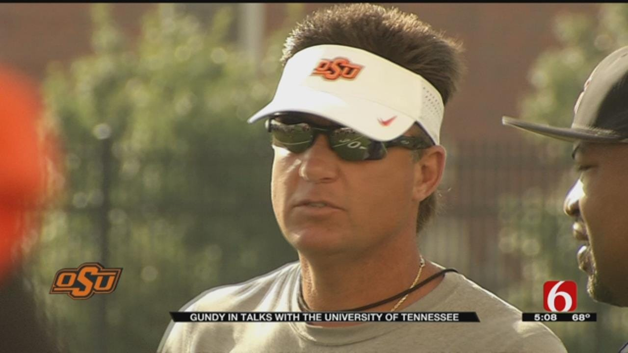 Reports: OSU Coach Gundy Meets With Tennessee About Coaching Job