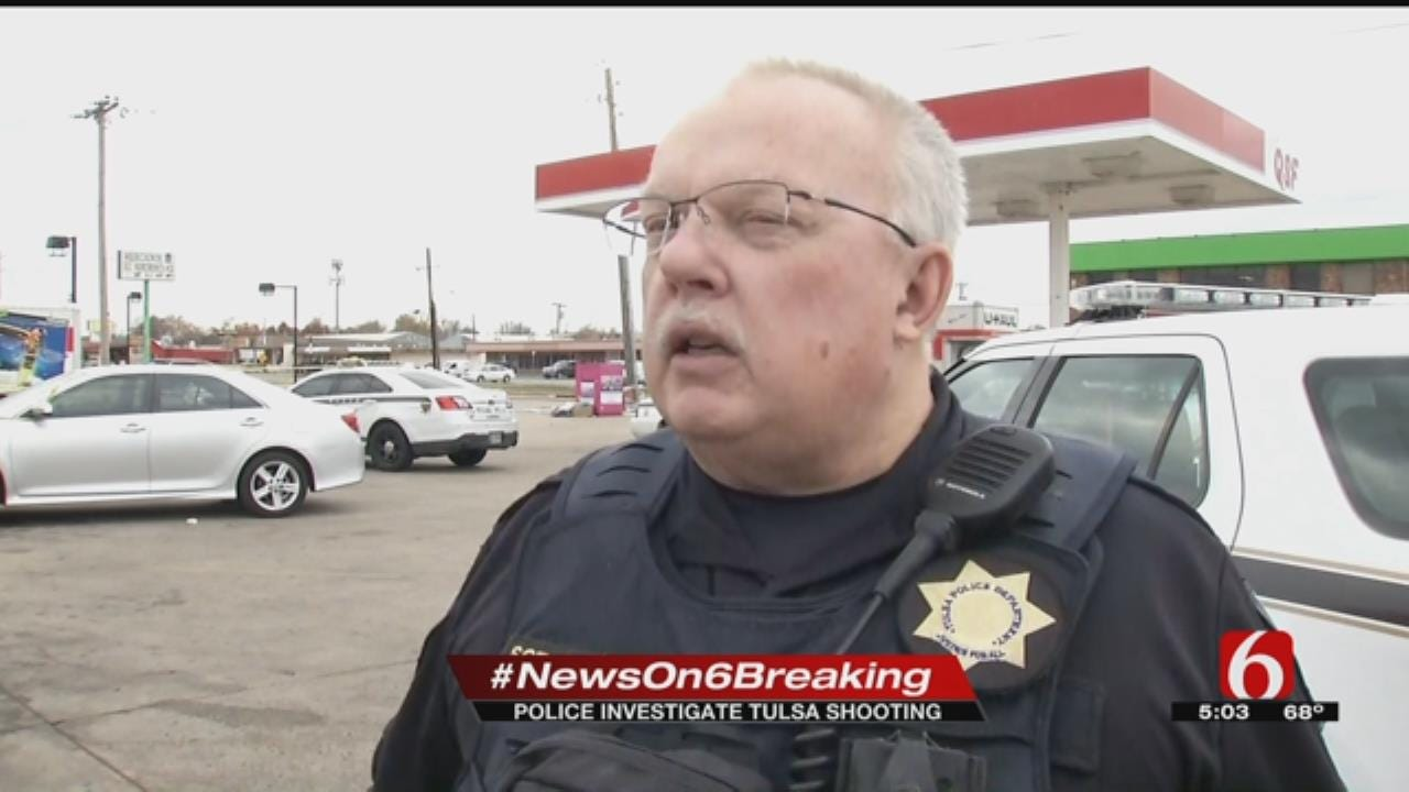 Police Believe Shooting At Tulsa Gas Station Is Gang-Related