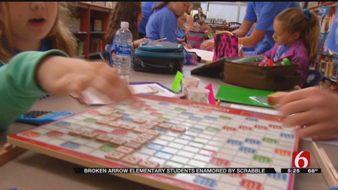 Scrabble Club Helps Broken Arrow Students Learn Spelling, Math