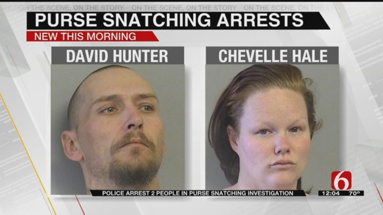 Police: Two Arrested For Stealing Tulsa Purse To Get Gas Money