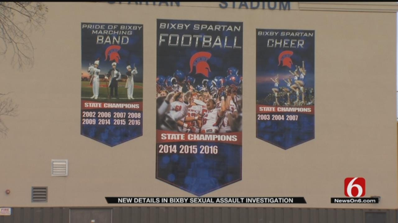 Affidavit Accuses Bixby Football Players Of Sexually Assaulting Teammate
