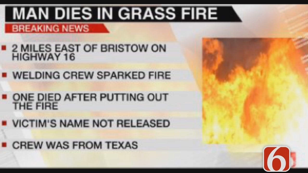 Tess Maune: Man Dies Trying To Put Out Fire Near Bristow