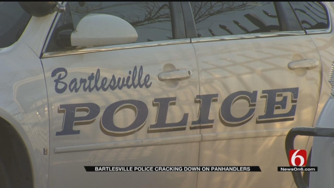 Bartlesville Police Crack Down On Panhandling