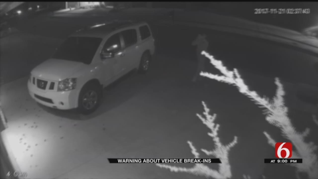 Tulsa Car Break-Ins On Rise During Holidays