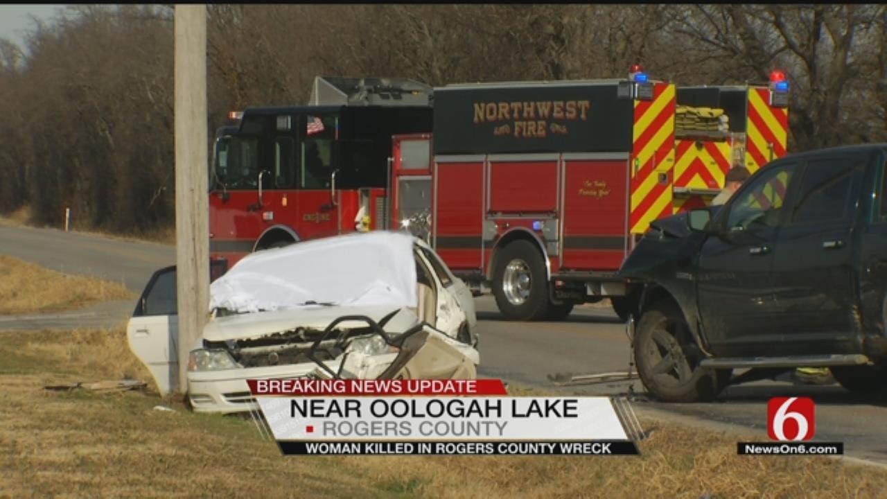 OHP: Woman Killed In Wreck Near Oologah Lake