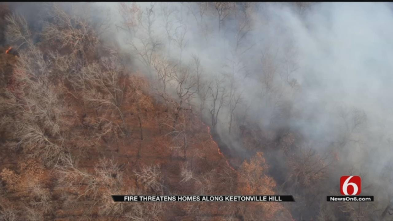 Brush Fire Threatened Rogers County Homes, Property Owned By Garth Brooks
