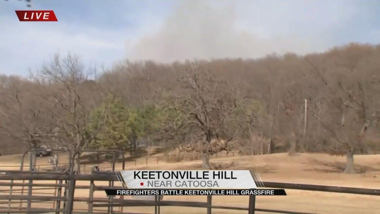 Warm, Gusty Winds Raising Fire Danger Across Green Country