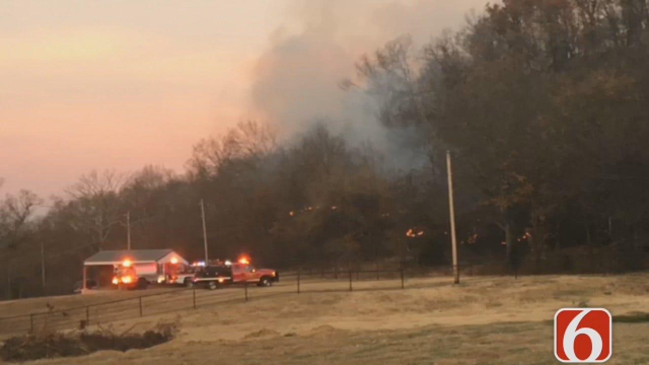 Joseph Holloway Says Keetonville Fire Rekindles