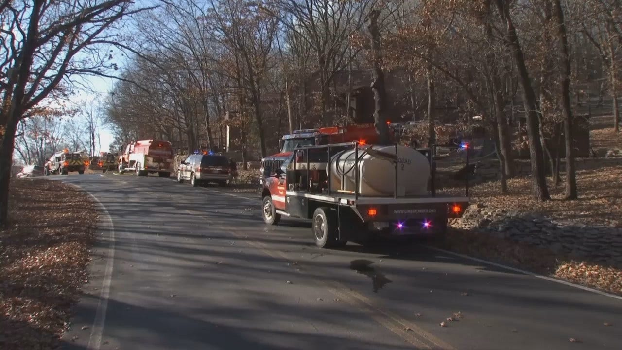 WEB EXTRA: Video From Scene Of Keetonville Hill Fire