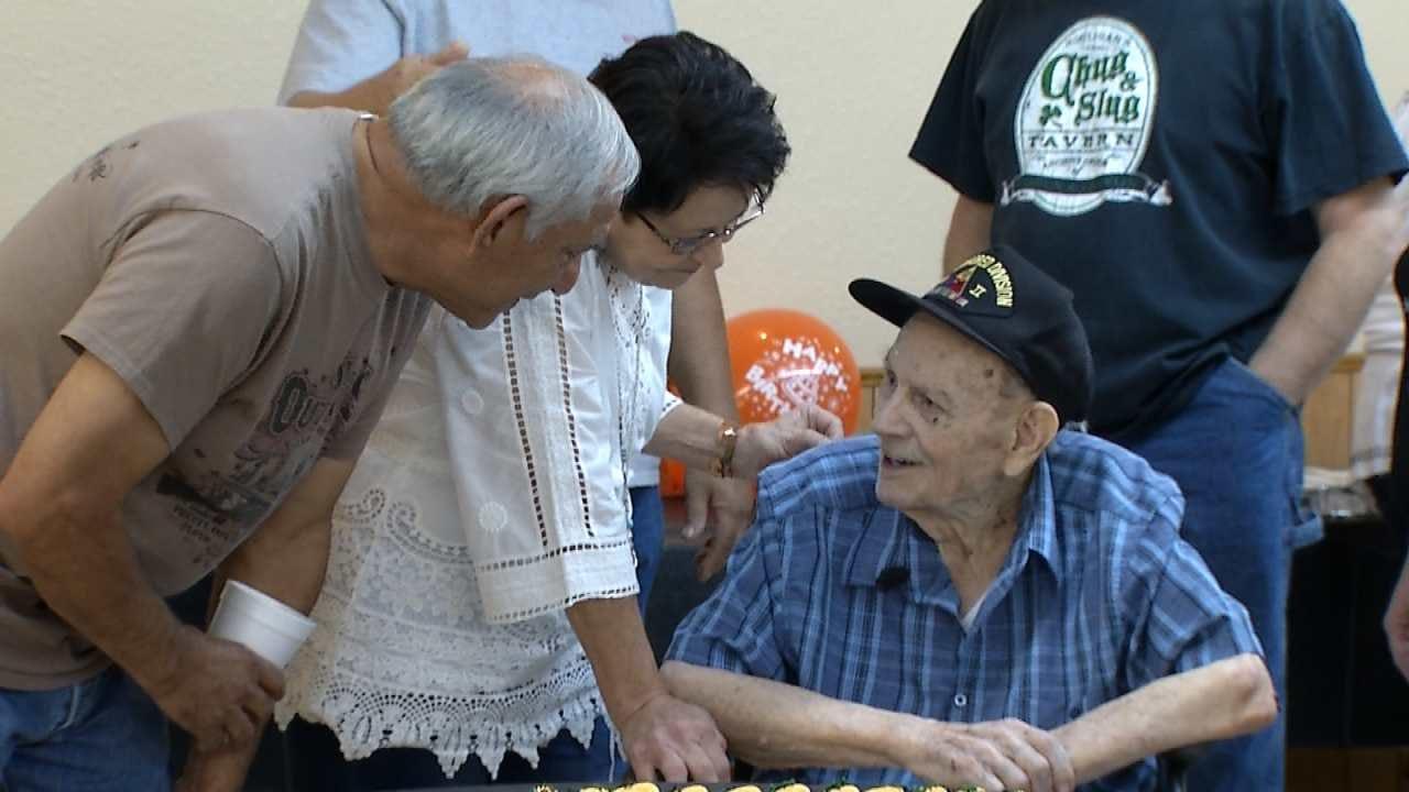WWII Veteran Celebrates 100th Birthday In Tahlequah