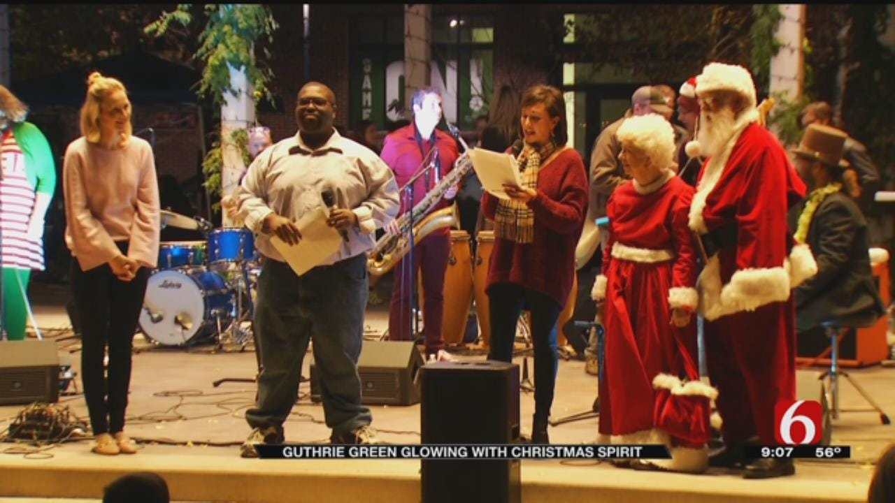 Guthrie Green Officially Lights Up For The Holiday Season
