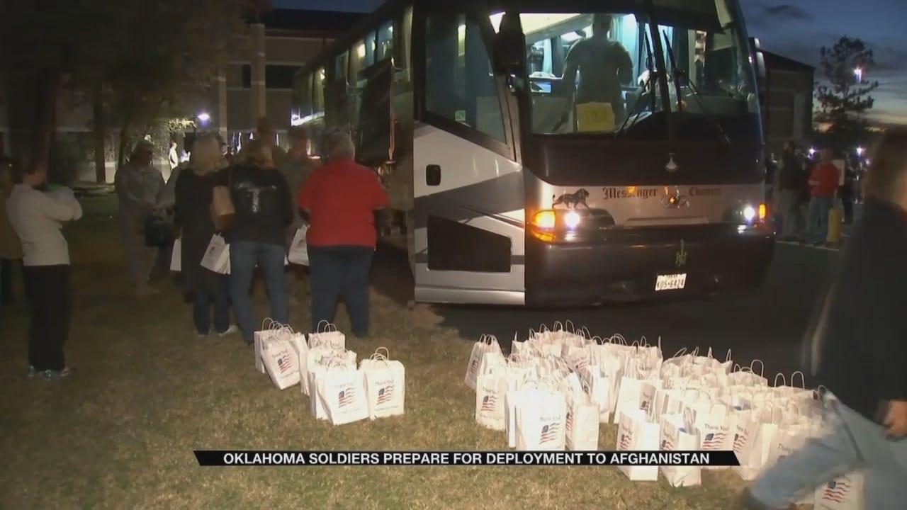 Oklahoma Troops Prepare For Overseas Deployment