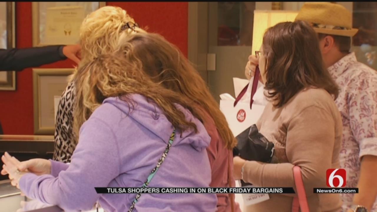 Tulsa Black Friday Shoppers On Hunt For Deals