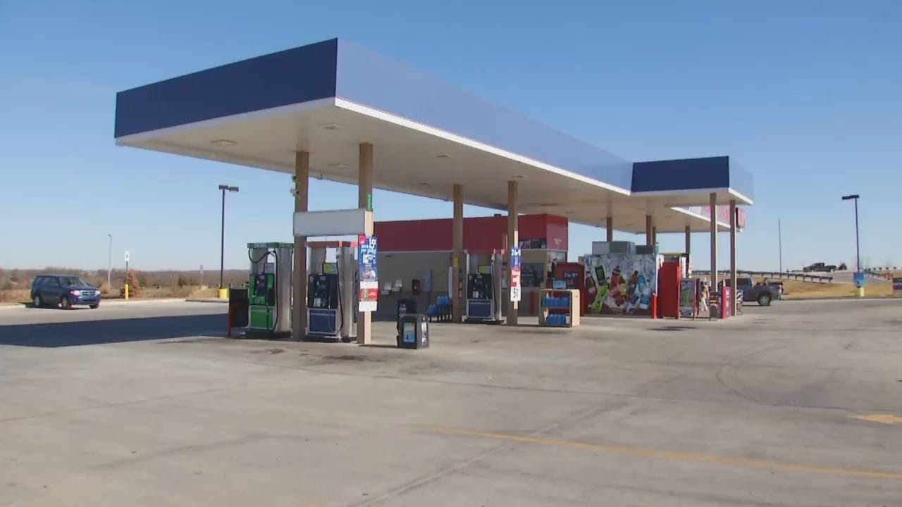WEB EXTRA: Video Of Cleveland Gas Station Where Meth Was Found