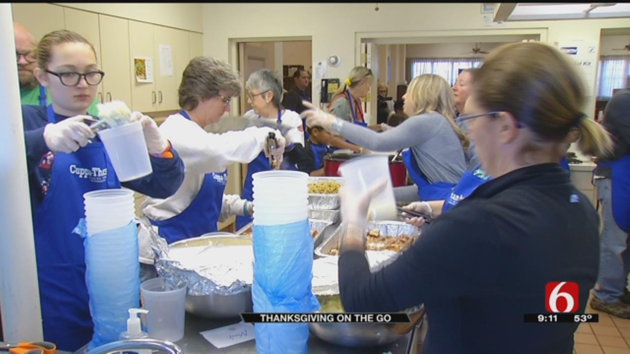 Tulsa Church Delivers 'Cuppa-Thanks' To Working People