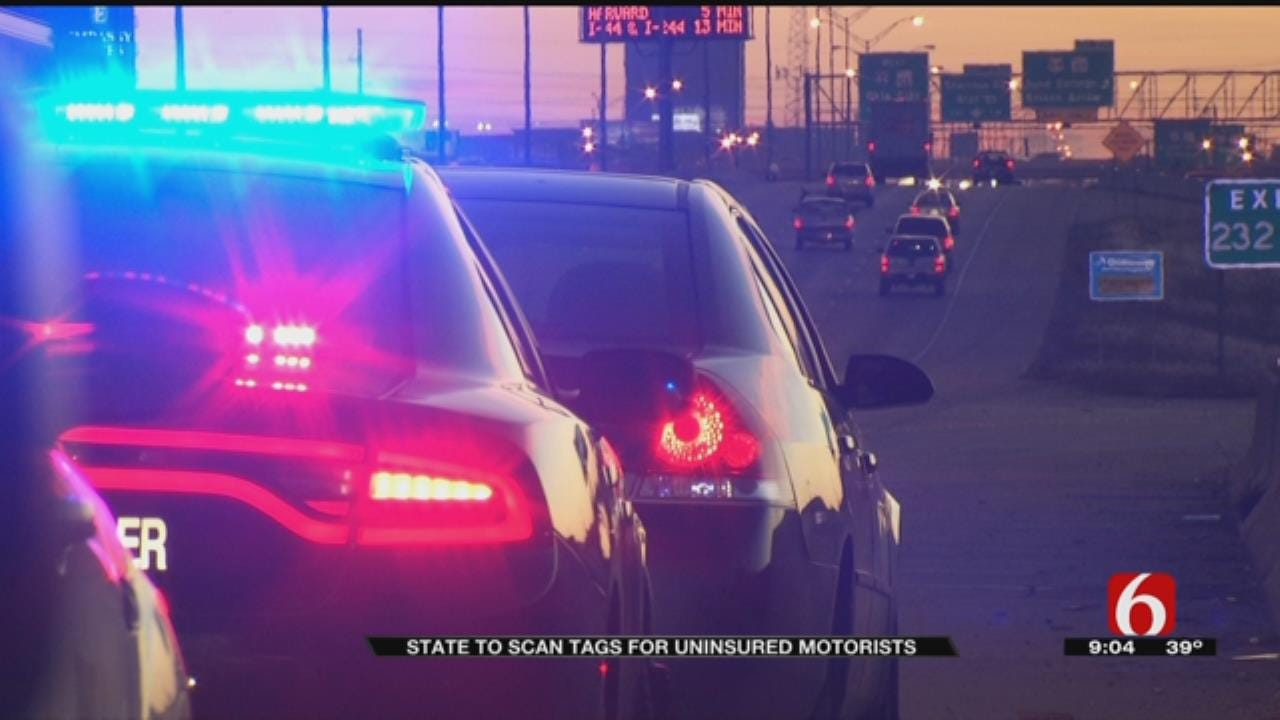 New System Scans Car Tags To Catch Uninsured Oklahoma Drivers