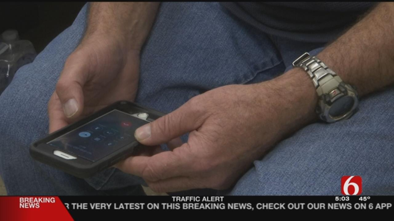 RCSO Hands Out Fliers Warning Of Phone Scam