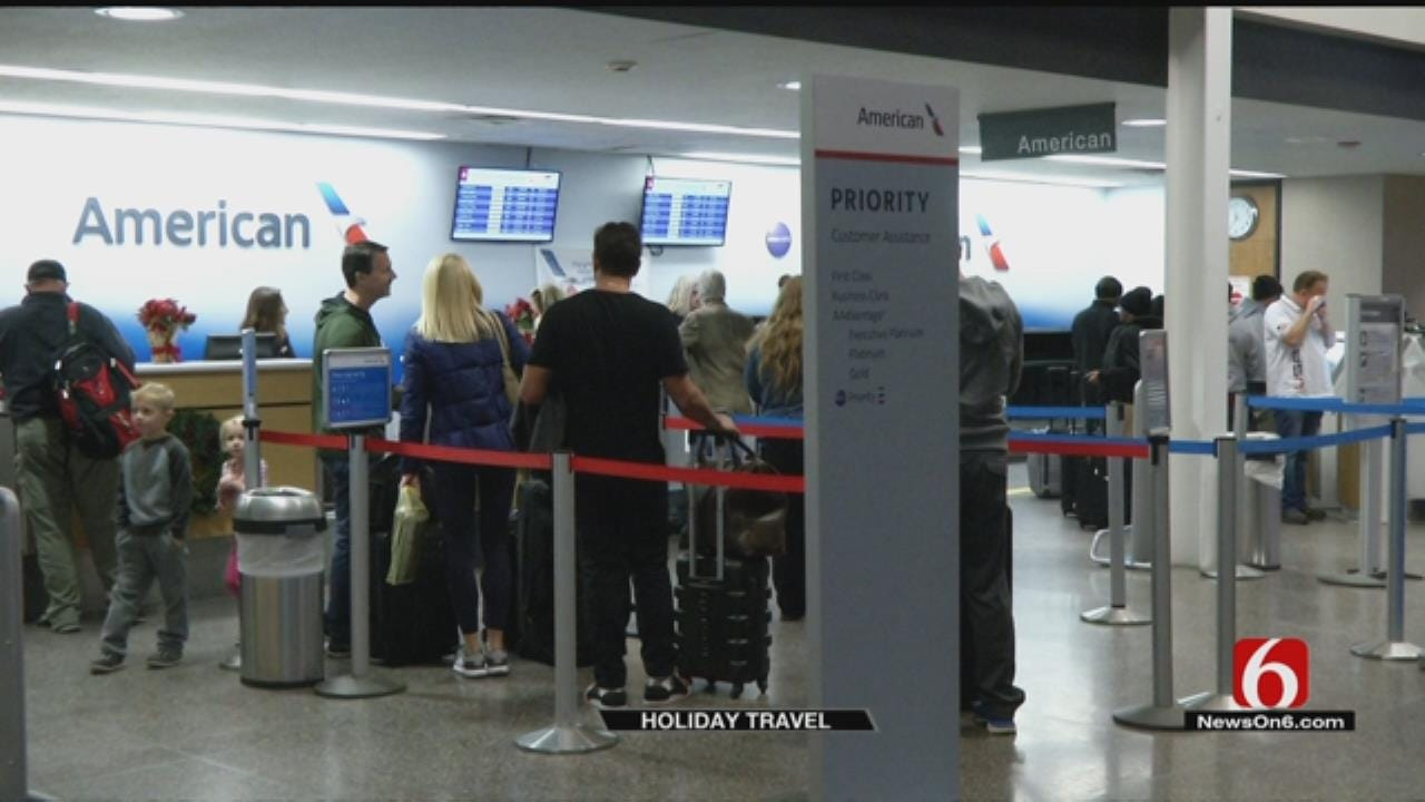Tulsa Airport Urges Passengers To Arrive Early During Busy Travel Season