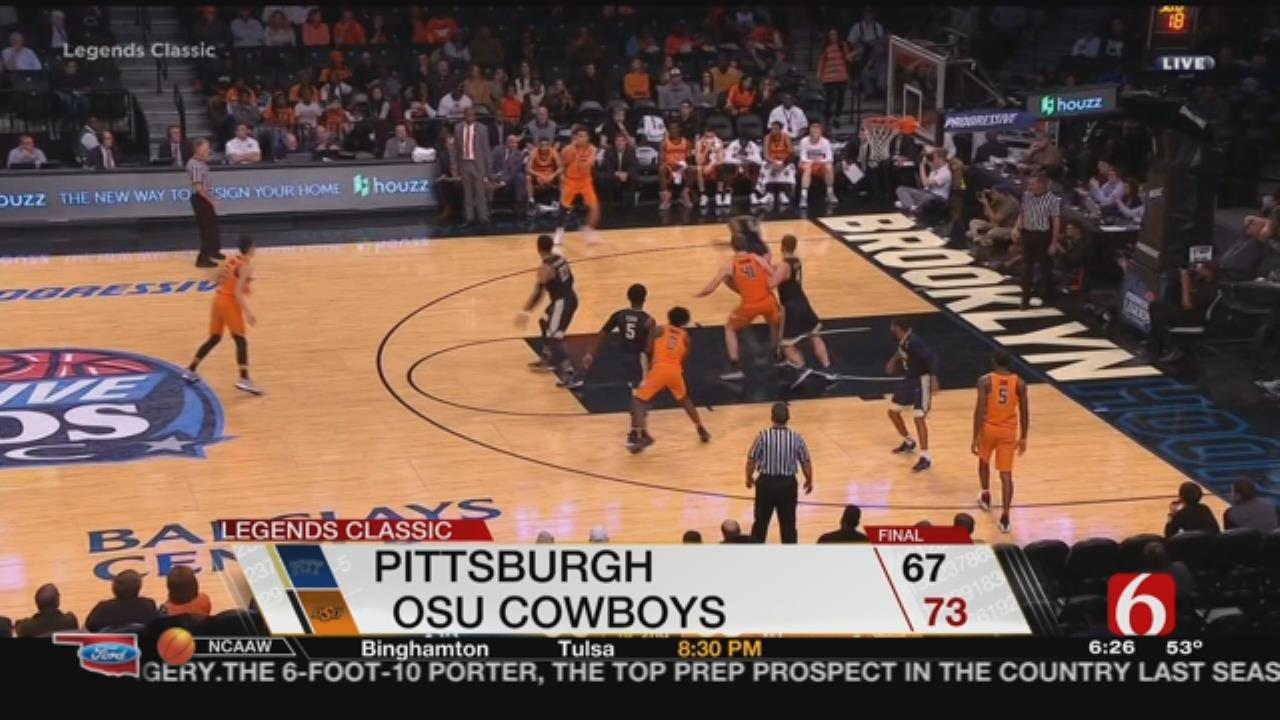 OSU Hoops: Jeffrey Carroll Talks Win Over Pitt