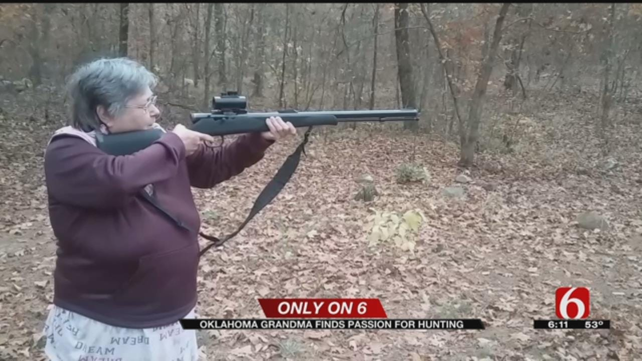 Tulsa 'Gun-Toting Grandma' Discovers New Passion In Hunting With Son