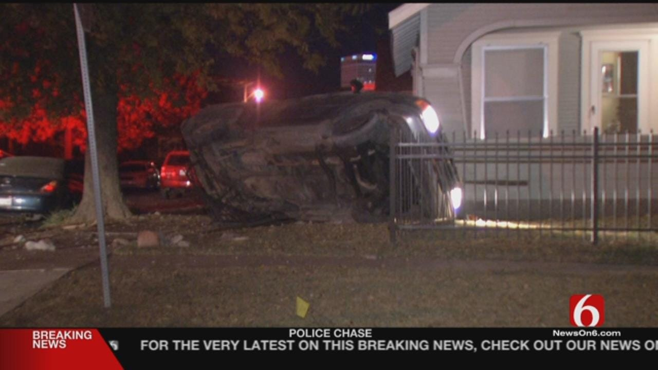 Ex-Con Crashes Into House While Running From Police, TPD Says
