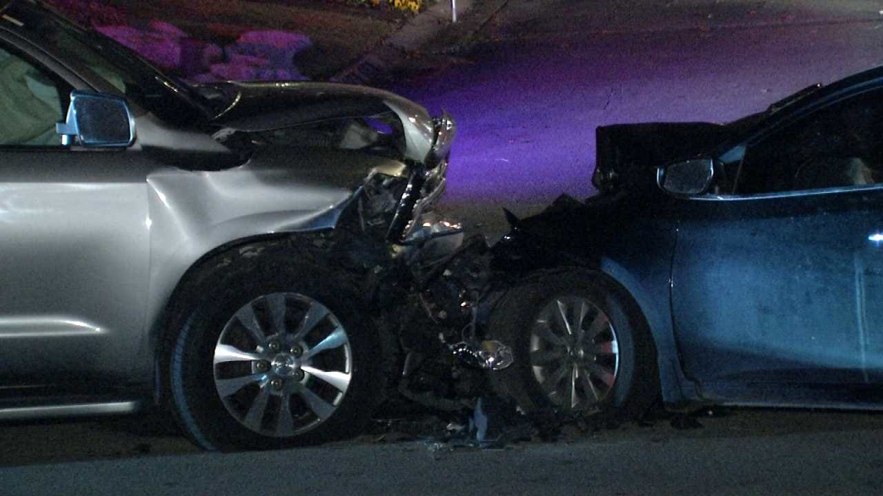 Man Killed In Bixby Head-On Wreck