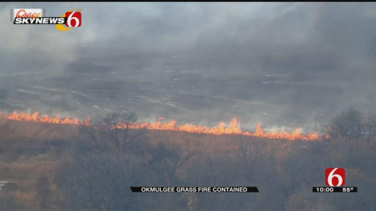Resident Thankful For Neighbors, Fire Department After Okmulgee County Wildfire