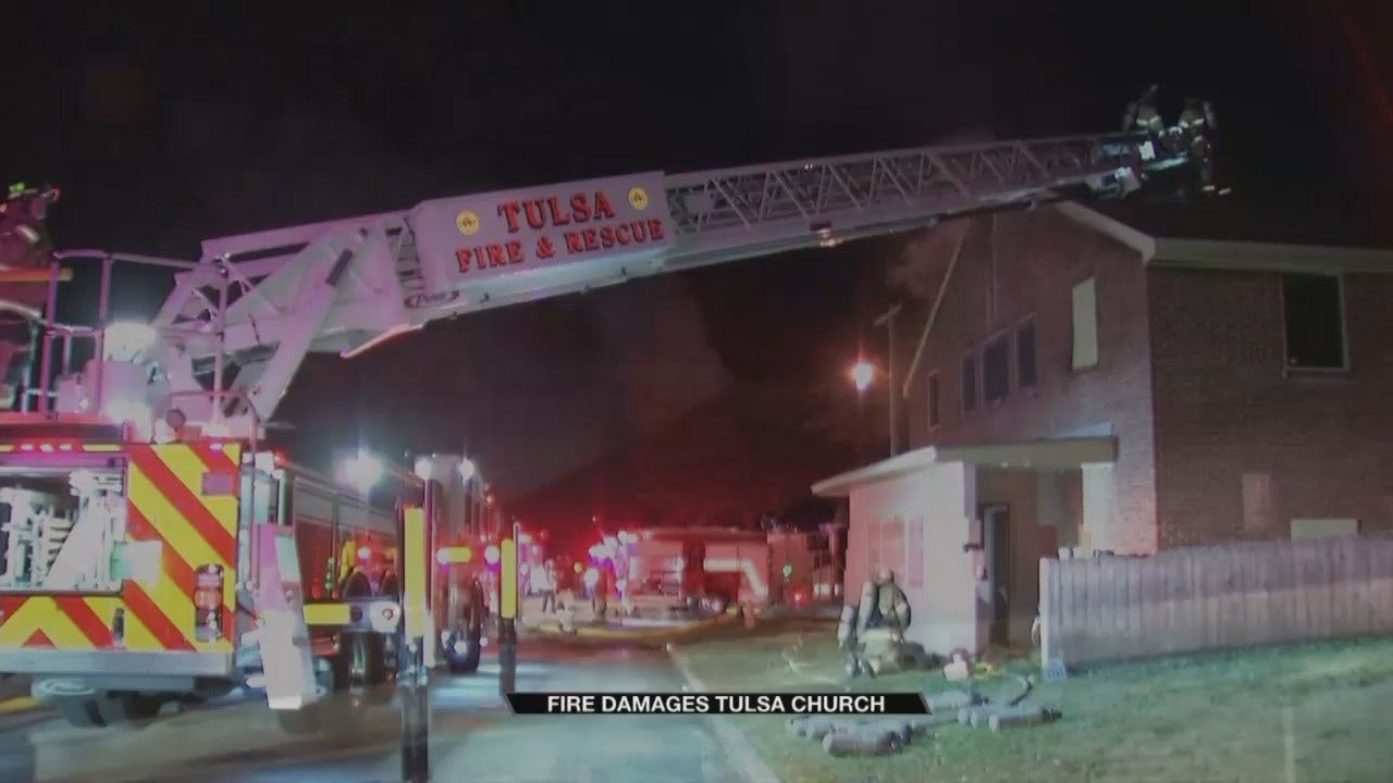 Fire At Tulsa Church Causes Thousands In Damages