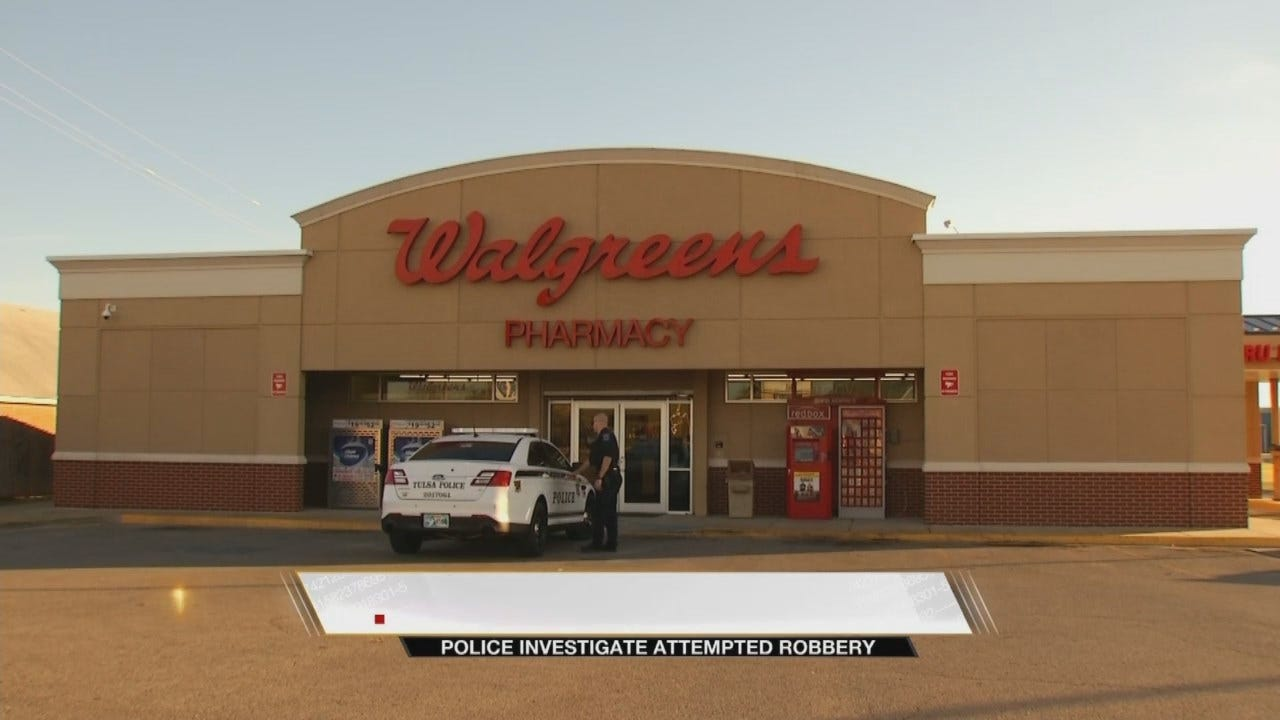 Walgreens Attempted Robbery Suspect Looking For Painkillers