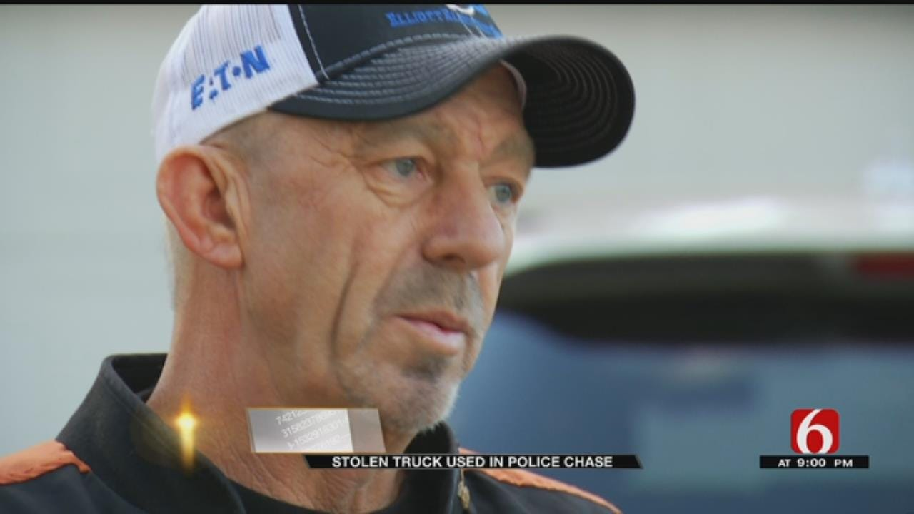Owner Of Truck Involved In Police Chase Speaks Out
