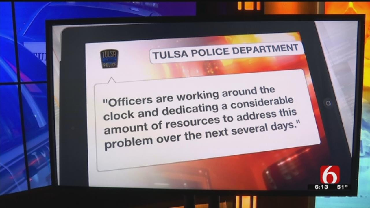 TPD Reports East Tulsa Crime Spike