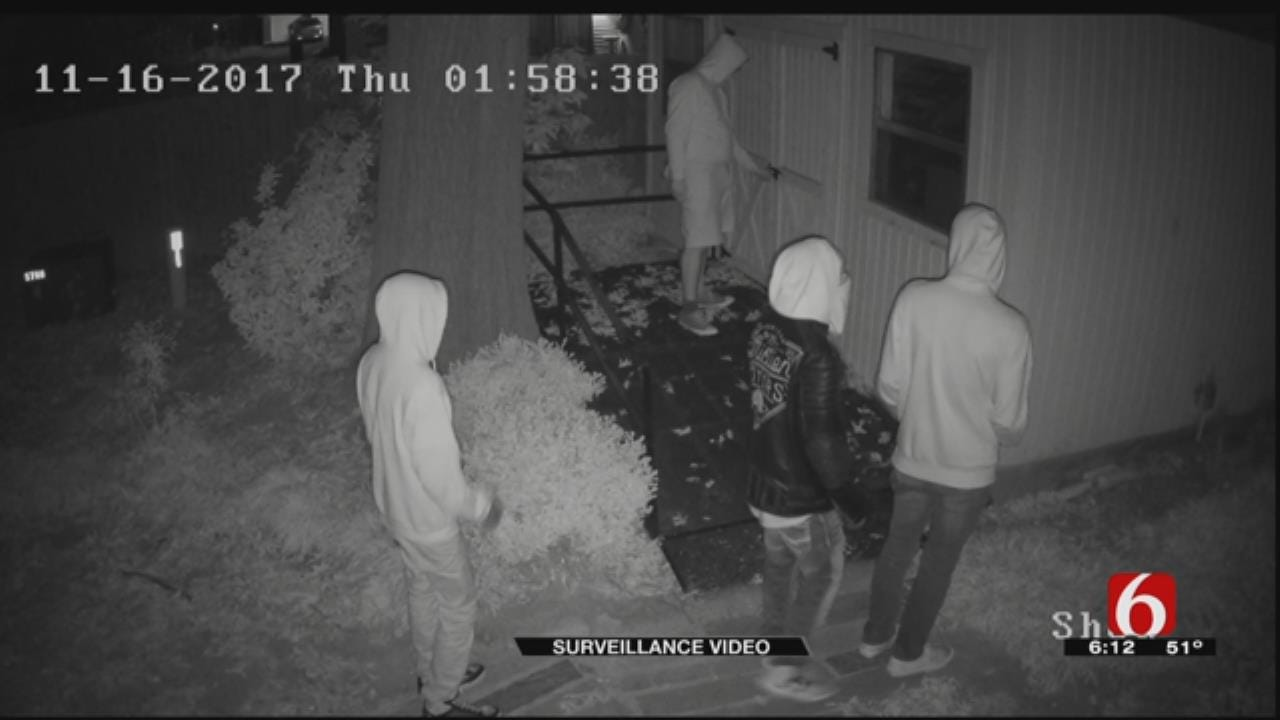 Tulsa Man: Video Shows 4 Kids Breaking Into Shed