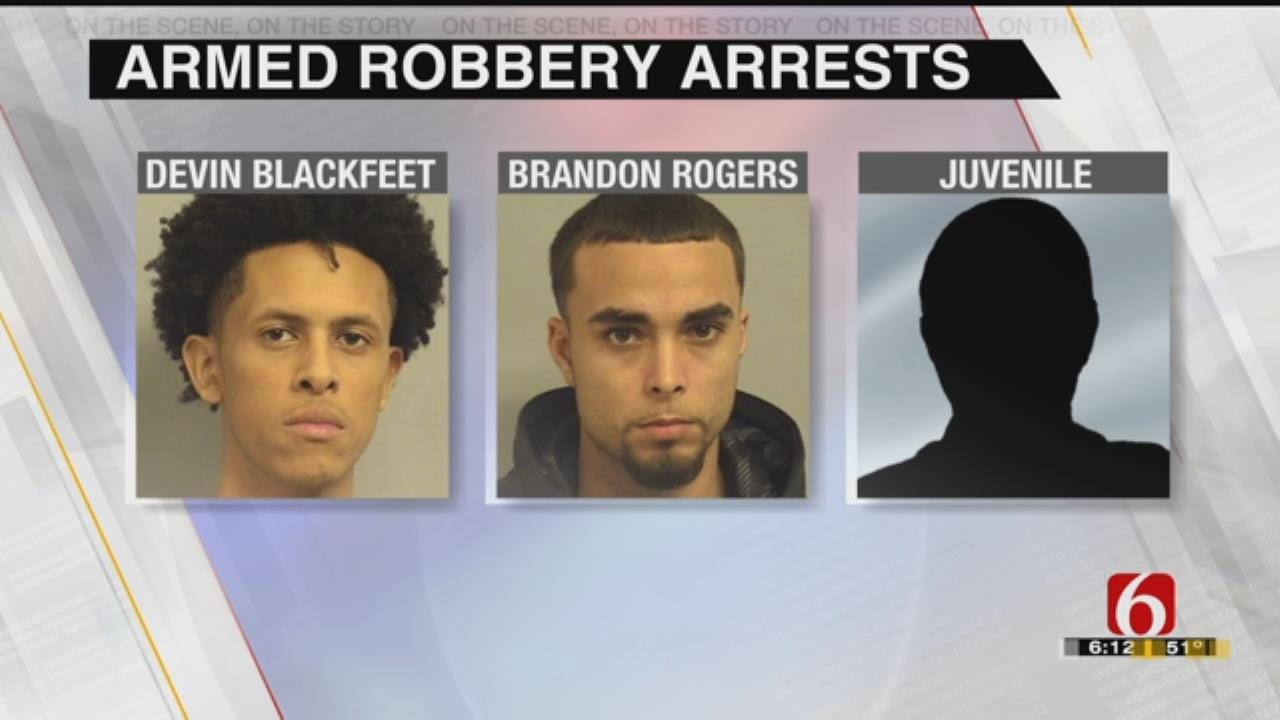 Two Men, One Teen Behind Bars After ATM Armed Robberies