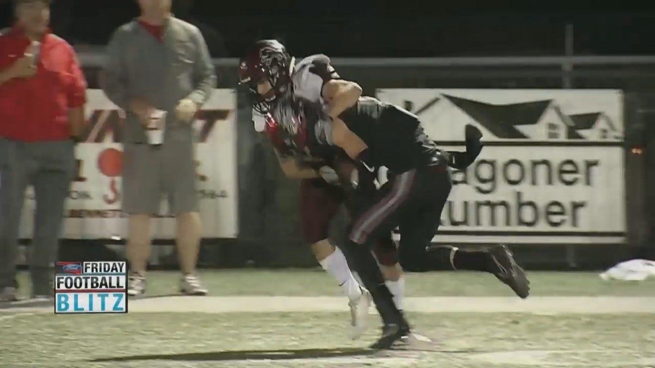 Teams Battle It Out In High School Football Week 2 Playoffs