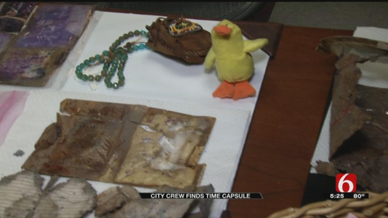 Tulsa City Crews Seeking Owners Of Decades-Old Time Capsule